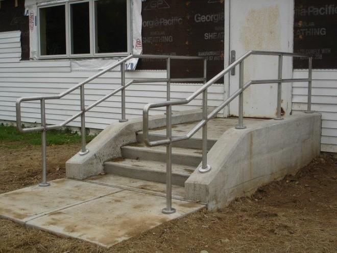 Beautiful Exterior Stair Handrails Ideas - Interior Design Ideas ...